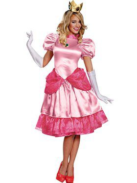 Princess Peach Deluxe Costume Adult