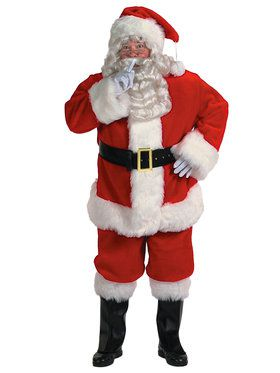 Professional Santa Suit XXXL Men's Costume
