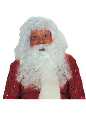 Santa Wig and Beard Professional Set