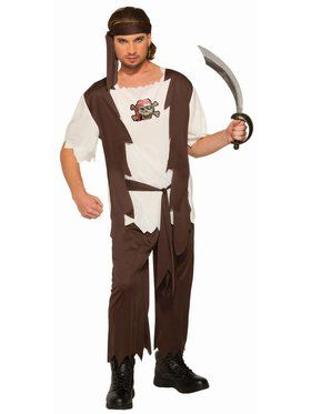 Adult Curvy Sam Pirate Costume