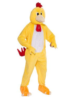 Adult Promo Chicken Mascot Costume