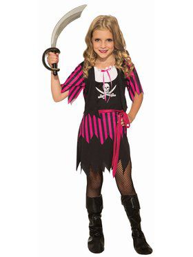 Rosie The Pirate Child Costume