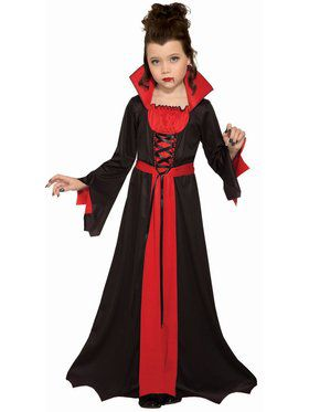 Vampiress Child Costume