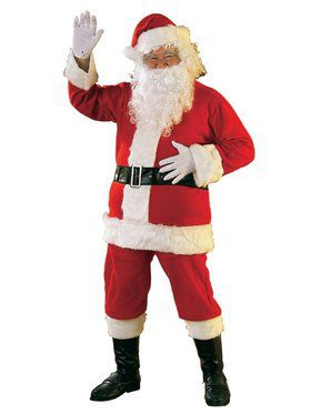 Flannel Promotional Santa Suit - XXL
