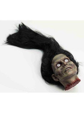Prop Female Zombie Head Accessory