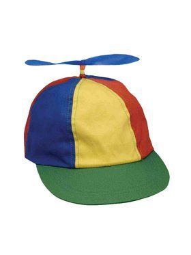 Multi-Colored Propeller Beanie Hat