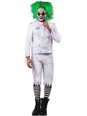 Psych Ward Clown Men's Costume