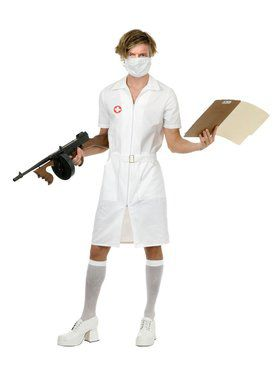 Adult's Psycho Nurse Costume