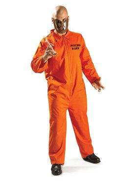 Psycho Ward Men's Costume