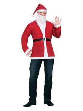 Pub Crawl Santa Jacket Kit Men's Costume