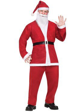 Pub Crawl Santa Suit Men's Costume