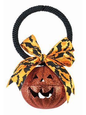 Pumpkin Bell Hanger Decoration