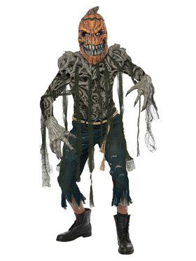 Pumpkin Creature Costume for Men