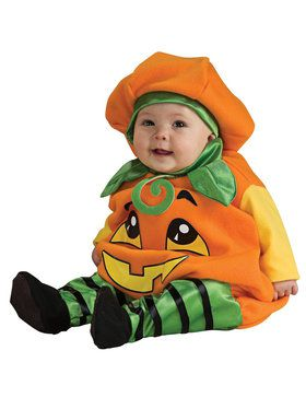 Pumpkin Jumper Costume For Babies