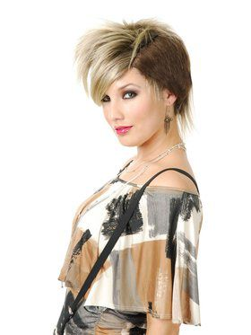 Women's Punk Rocker Wig