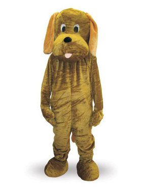 Puppy Dog Mascot Costume for Adults