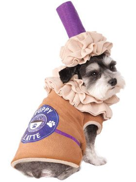 Puppy Latte Pet Costume