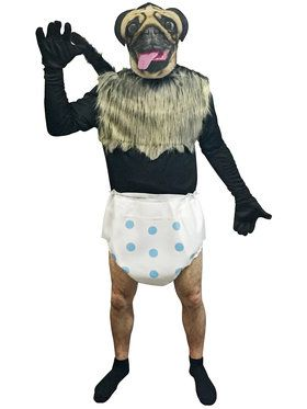 Puppy Monkey Baby Adult Costume