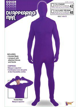 Adults Purple Skinsuit