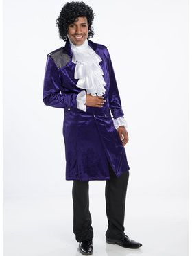 Purple Artist Jacket Adult Costume