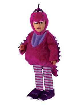 Purple Dragon Costume for Kids