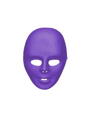 Purple Face Mask Adult