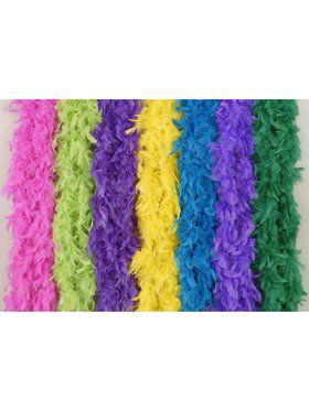 Purple Fashion Boa Costume Accessory