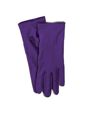 Purple Costume Gloves