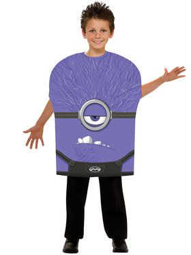 Purple Minion Kids Costume