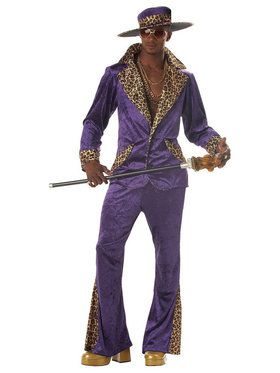Purple Pimp Suit for Men