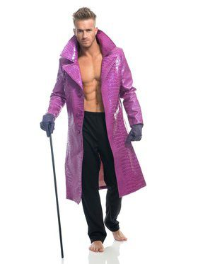 Adult's Purple Snakeskin Jacket