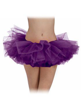 Purple Tulle Womens Tutu