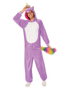 Comfy Wear Purple Unicorn Costume