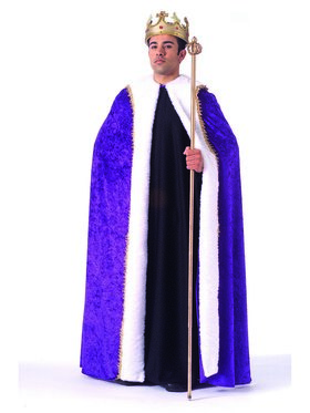 Purple Velvet Robe