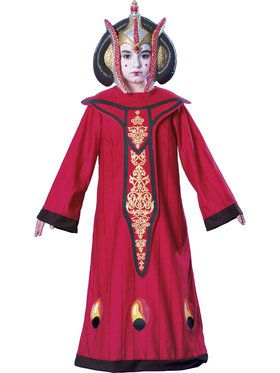 Star Wars Girls Classic Queen Amidala Costume