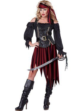 Queen of the High Seas Women's Costume