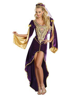 Queen of Thrones Renaissance Adult Costume
