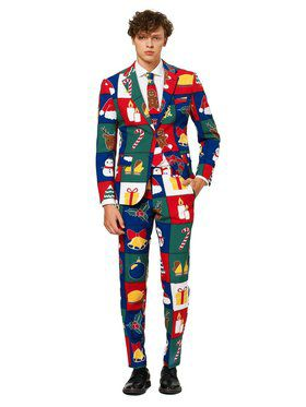 Quilty Pleasure Opposuit Men's Costume