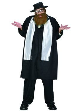 Rabbi Adult Plus Costume