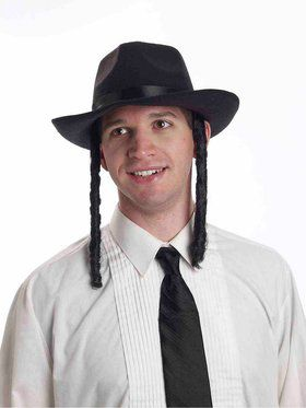 Men's Rabbi Hat with Payes