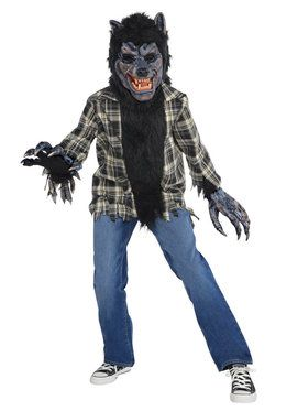Rabid Werewolf Costume for Kids
