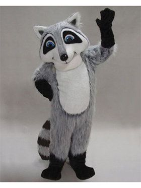 Raccoon Mascot Adult's Mascot Costume