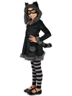 Raccoon with Tights Costume For Children
