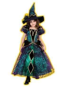 Kids Radiant Witch Costume