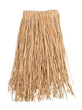 Raffia Grass Luau Skirt Adult