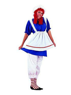 Women's Rag Doll Costume