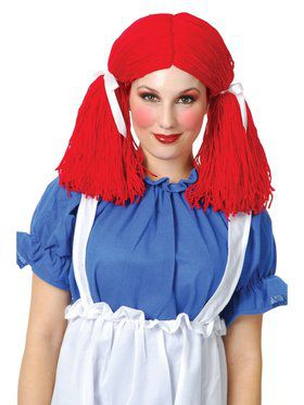 Women's Rag Doll Wig