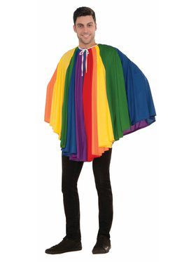 Rainbow Cape for Adult