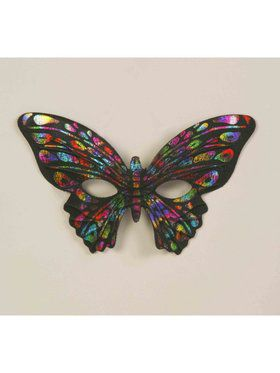 Rainbow Butterfly Mask