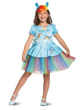 Rainbow Dash Tutu Deluxe Child